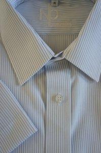 KORTE MOUW overhemd  Faro