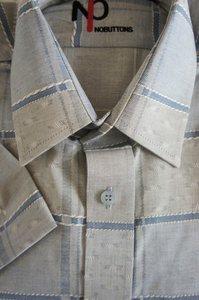 KORTE  MOUW overhemd Samos