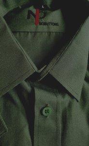 KORTE MOUW overhemd Mikanos